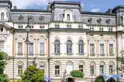 Neobarockes Rathaus in Neu Sandez (Nowy Sącz)