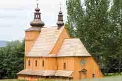 Lemkenkirche im Freilichtmuseum Neu Sandez