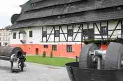 Geräte zur Papierherstellung in Bad Reinerz (Duszniki Zdrój)