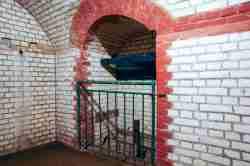 Aufzug in der Festung Boyen