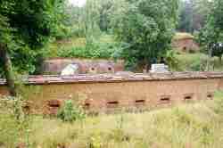 Kurtinemauer Festung Boyen