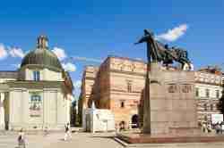 Gediminas-Denkmal in Vilnius