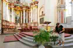 Altar der Kirche St. Kasimir in Vilnius