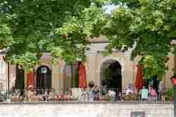 Restaurant und Touristeninformation in Sandomierz