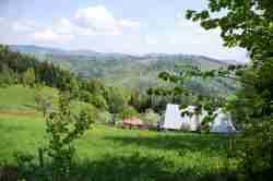Berghütte mit Restaurant in den schlesischen Beskiden Schlesien