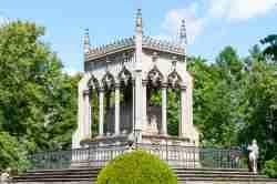 Das Grab des Grafen Potocki in Wilanów