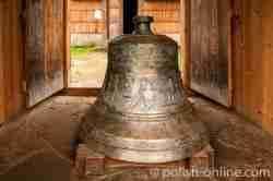 Glocke einer griechisch-katholischen Kirche im Freilichtmuseum Sanok