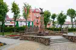 Denkmal für polnische Patrioten in Ustrzyki Dolne
