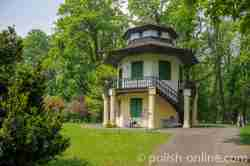 Chinesisches Haus im Schlosspark von Saybusch (Żywiec)