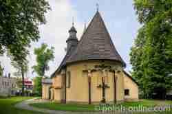 Heiligkreuzkirche in Saybusch (Żywiec)