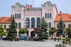 Neues Rathaus in Saybusch (Żywiec)