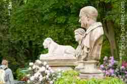 Statuen im Łazenki Park