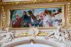 Wandbild im Foyer des Opernhauses in Lemberg