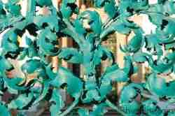Akanthusblätter am Eingangstor Heiligelinde