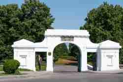 Eingang zum Stadtpark von Zamość