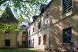 Rückseite Schloss Steinort
