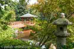 Brücke im Japanischen Garten Breslau (Wrocław)