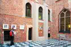 Überdachter Innenhof Rathaus Breslau
