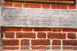 Verstärkung der Fenster im Rathaus von Breslau