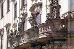 Balkon der Universität Breslau