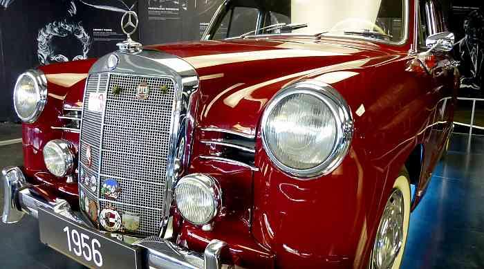 Mercedes Limousine von 1956