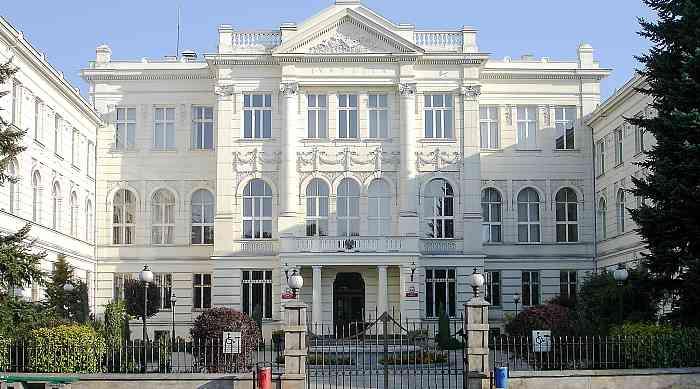 Gerichtsgebäude in Piotrków Trybunalski