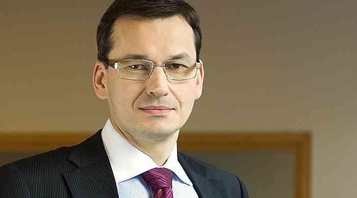 Polens Ministerpräsident Mateusz Jakub Morawiecki
