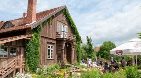 Ehemaliges Jagd- und Forsthaus in Gałkowo
