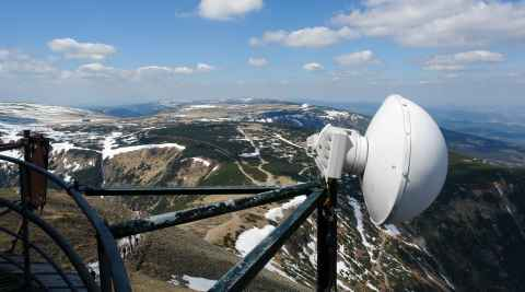 Meteoroligische Station auf der Schneekoppe