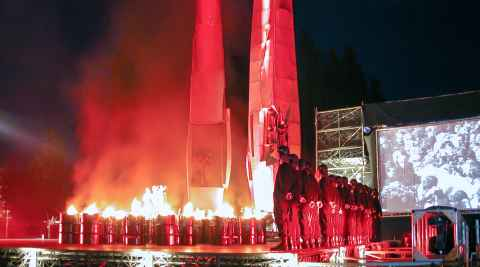 Theateraufführung 25 Jahre Solidarität in Danzig