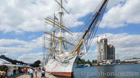 Segelschulschiff Dar Pomorza Gdingen (Gdynia)