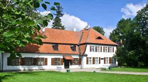 Landhaus der Familie Wybicki in Będomin