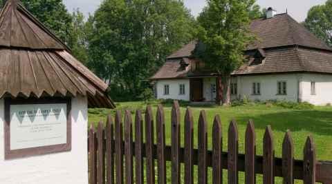 Gutshaus in Łopuszna