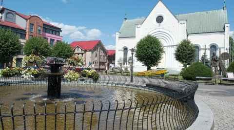 Heiligkreuz-Kirche Tempelburg (Czaplinek)