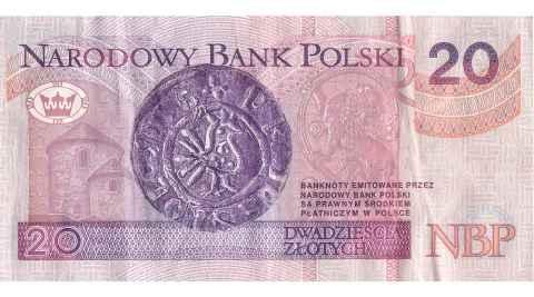 20 Złoty Geldschein