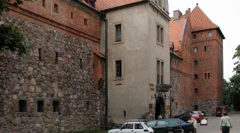 Schloss in Bütow (Bytów)
