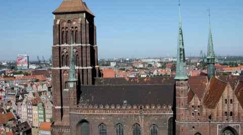 Kirche St. Marien in Danzig (Gdańsk)
