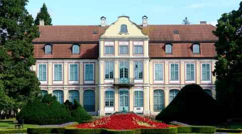 Schloss in Danzig Oliva