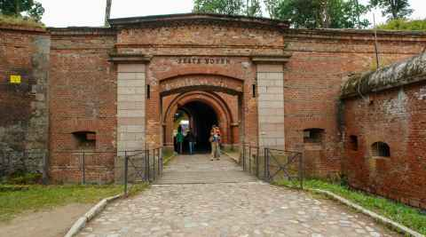 Eingang zur Festung Boyen