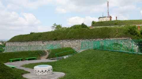 Burg in Glatz (Kłodzko)