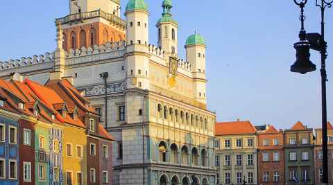 Rathaus in Posen (Poznań)