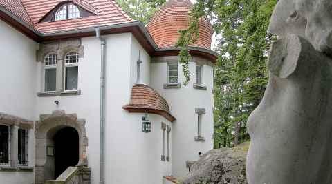 Villa Wiesenstein in Agnetendorf (Jagniątków)