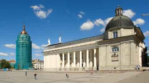 Kathedrale Sankt Stanislaus in Vilnius (Wilna)