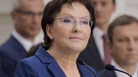 Polens Premierministerin Ewa Kopacz