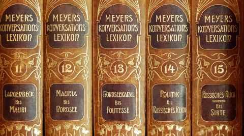 """Lexika """"Meyers Neues Lexikon"""""""