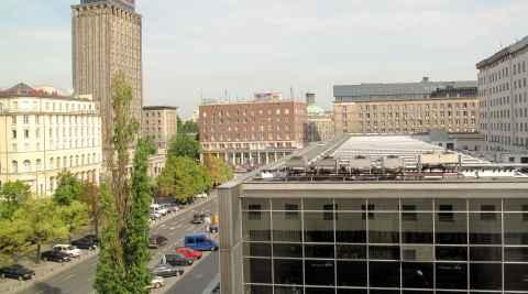 Das Prudential-Hochhaus in Warschau