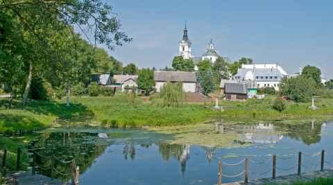 Stadtansicht von Kodeń