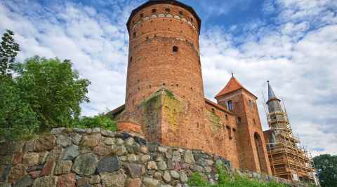 Ordensburg in Rössel (Reszel)