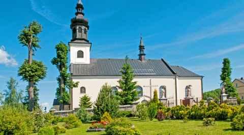 St. Florian-Kirche in Uszew