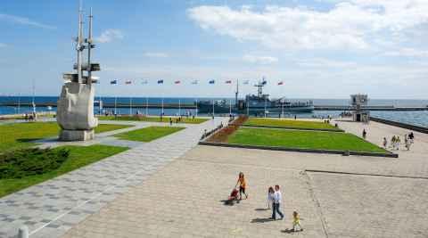 Skwer Kościuszki in Gdingen (Gdynia)
